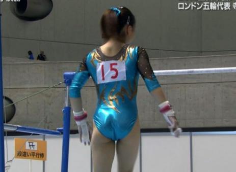 女子体操エロ画像110枚!勃起せずには見られないぞ~!・1枚目の画像