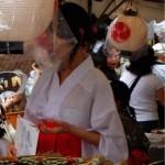 街中で勝負下着を見せつけながら歩く素人wwwww★素人スケ系のエロ画像