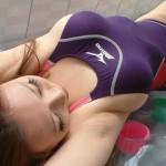 【※激シコ※】競泳水着コスでローションプレイしたい・・・セフレに頼んだら風俗行け言われたwwwwwwwww(画像あり)