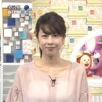 加藤綾子(30)が透けた服装で丸見えwww追い詰められたフジテレビ暴走www
