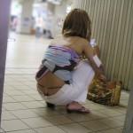 もはや露出狂wwww素人さんの無防備加減に二度見必至wwww★素人街撮りエロ画像