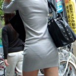 OLとみられる大人の女のパンティラインがエロいwww★素人街撮りエロ画像(`・ω・´)