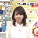 加藤綾子(30)連日の透け透けシースルー…下着紐丸見えで生放送…(※キャプ画像大量)