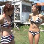 小島瑠璃子(こじるり)のテレビで映ったおっぱい見せつけお色気シーンのエロ画像wwwwwww