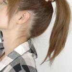 【画像】ポニテ女の髪を束ねたパヤ毛がたまらんwwwwww★ポニーテールエロ画像