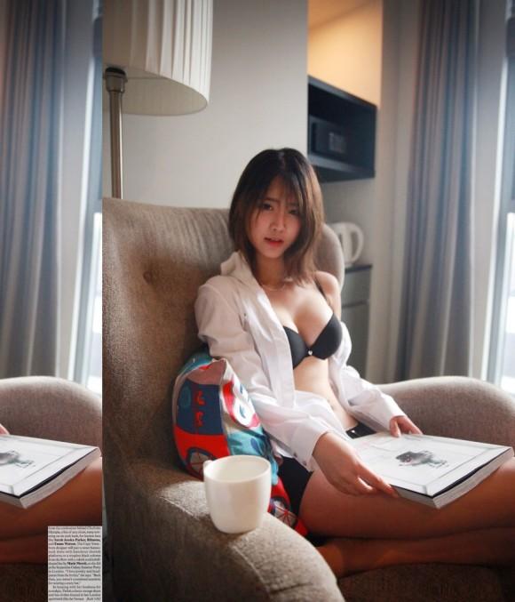 【驚愕】韓国下着モデル…これ完全にエロ本だわwwwwwwwww(画像あり)・18枚目の画像