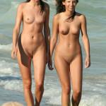 ブスは出禁…美女限定ヌーディストビーチがレベル高すぎてぐうしこwwwww(画像あり)
