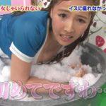 マスカットナイトでAV女優が熱湯風呂でスケスケでパンチラ・胸チラしまくりでモザイク不可避wwwww(エロキャプ画像あり)