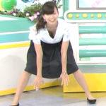 清楚女子アナ!斎藤真美アナが早朝から胸チラ連発で視聴者をフル勃起にさせるwwwww(TVエロキャプ画像あり)
