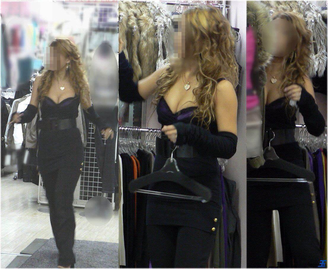ショップ店員の胸チラサービスエロ画像20枚・10枚目の画像
