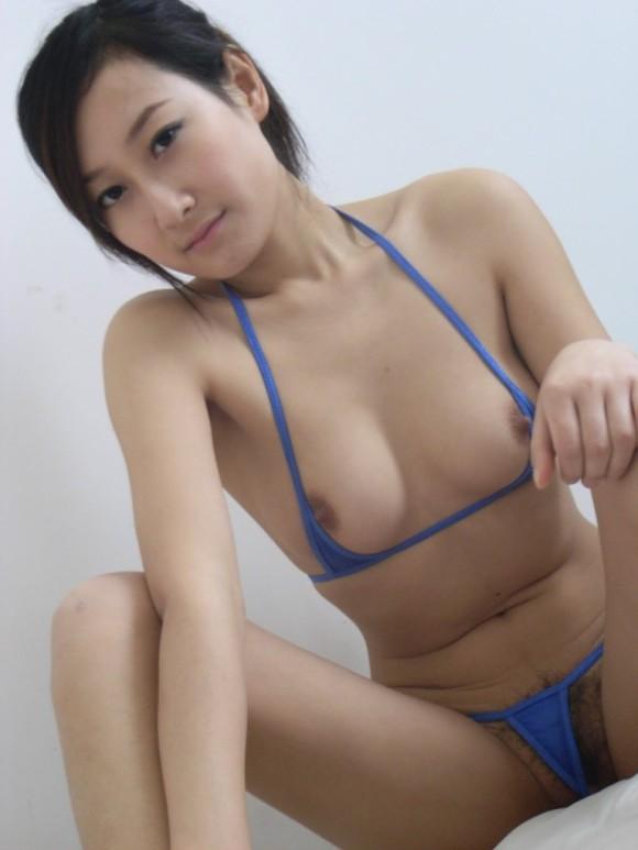 中国人ヌードモデルの不自然な偽乳エロ画像32枚・40枚目の画像