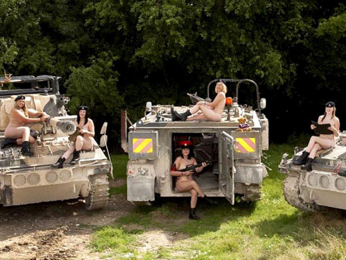 女性軍人ヌードが強そうだが抜けるエロ画像50枚・42枚目の画像