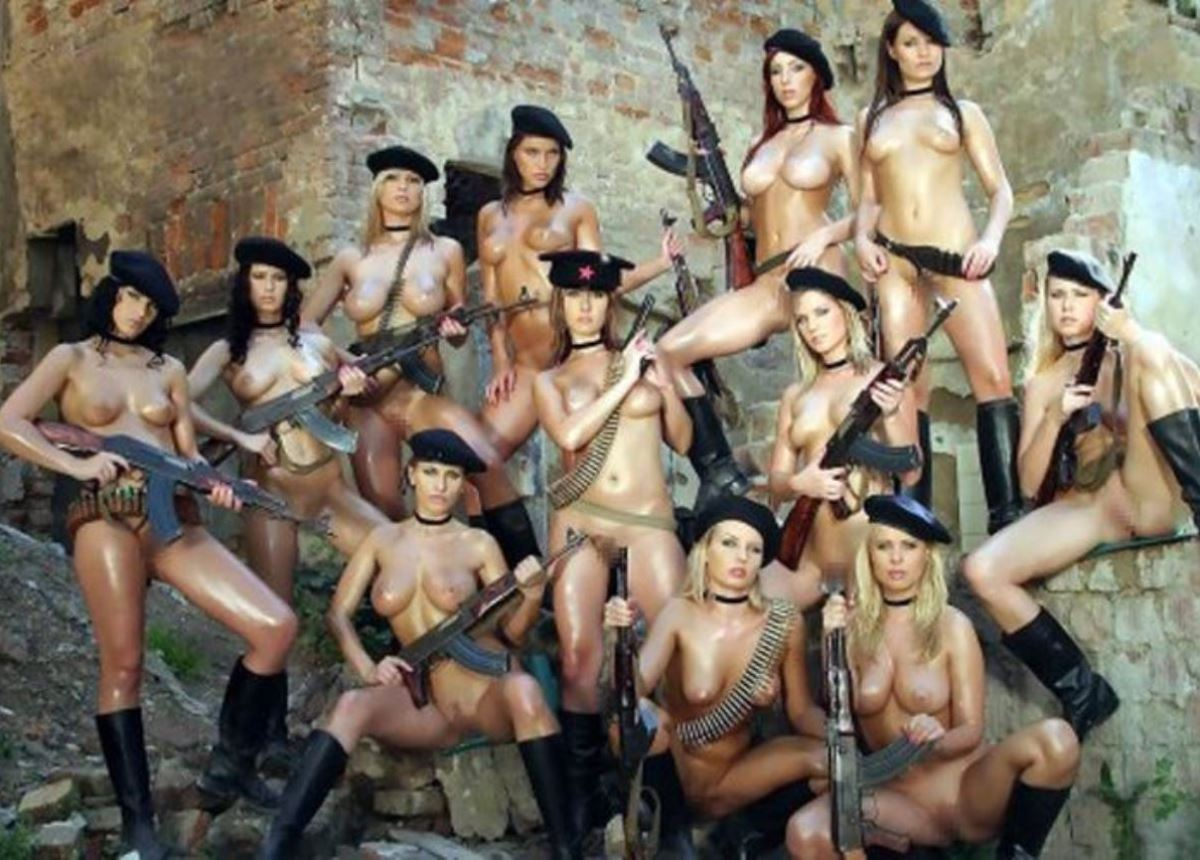 女性軍人ヌードが強そうだが抜けるエロ画像50枚・43枚目の画像