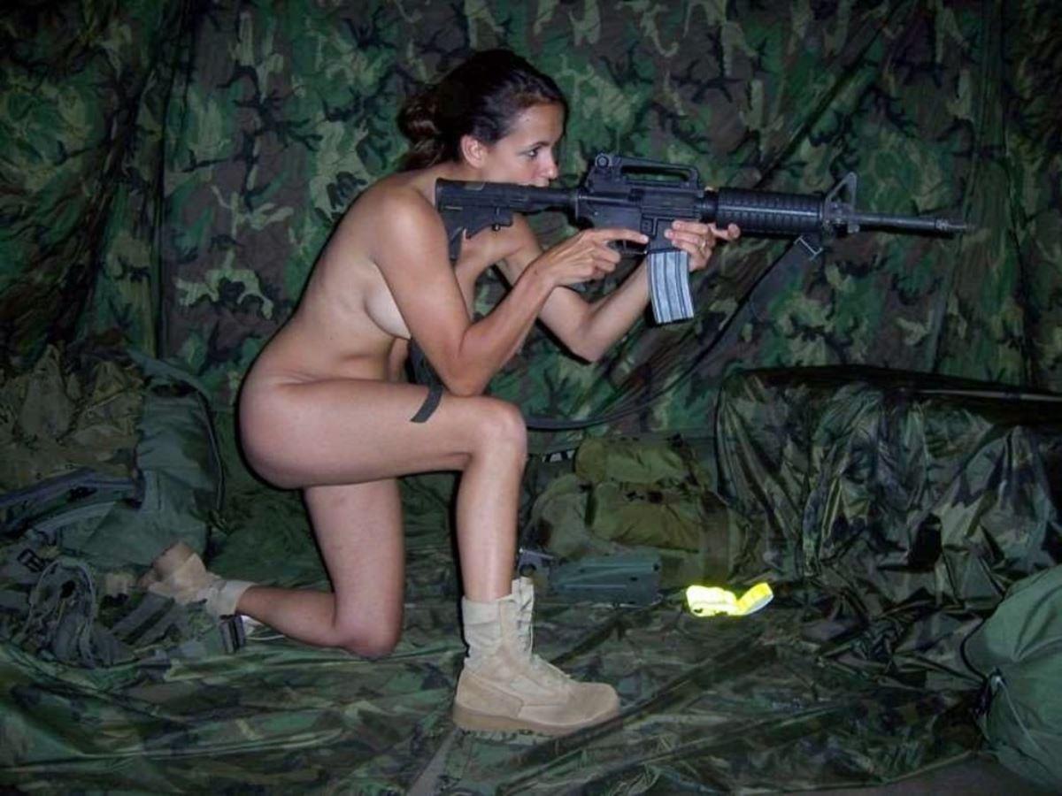 女性軍人ヌードが強そうだが抜けるエロ画像50枚・56枚目の画像