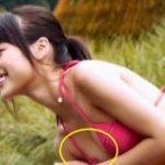 有村架純・伝説の乳首ポロリの極小ビキニ映像⇒大量にキャプられてネット流出…(画像あり)