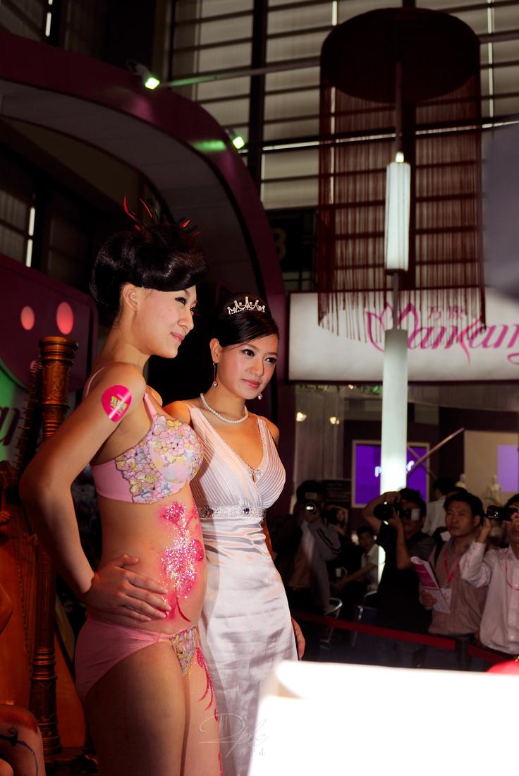 中国人美女の下着モデルのファッションショー…マン毛透けてるのは気のせいだろうか?wwwww(画像あり)・24枚目の画像