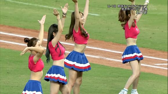 台湾チアガールが相変わらずえろすぎる☆sexしたい盛りの野球少年の前でこれは拷問wwwwwwwwww(写真あり)