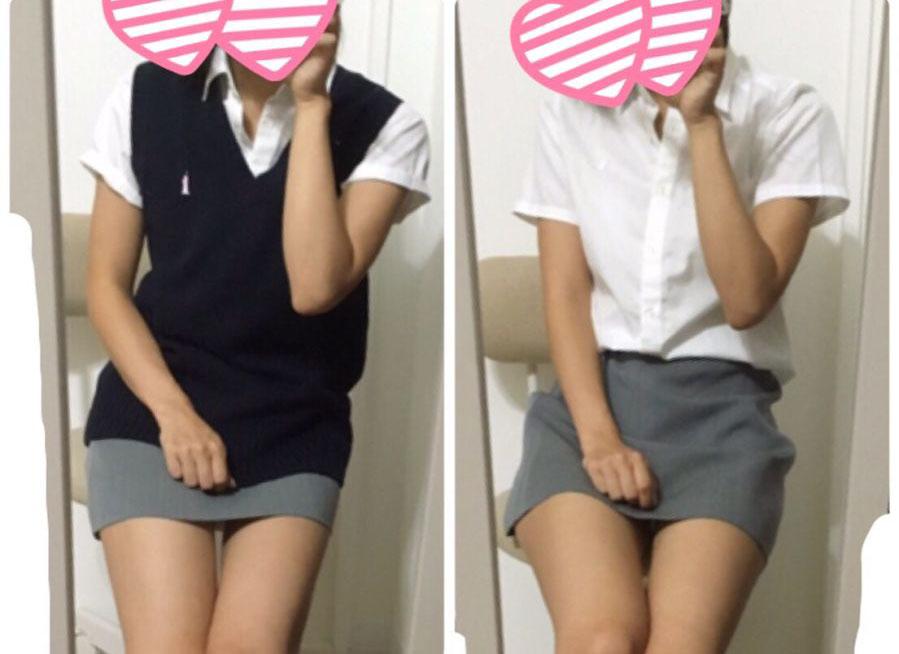【エロ画像】タイトミニスカみたいなセイフク今時女子校生がヌけるえろ画像15枚
