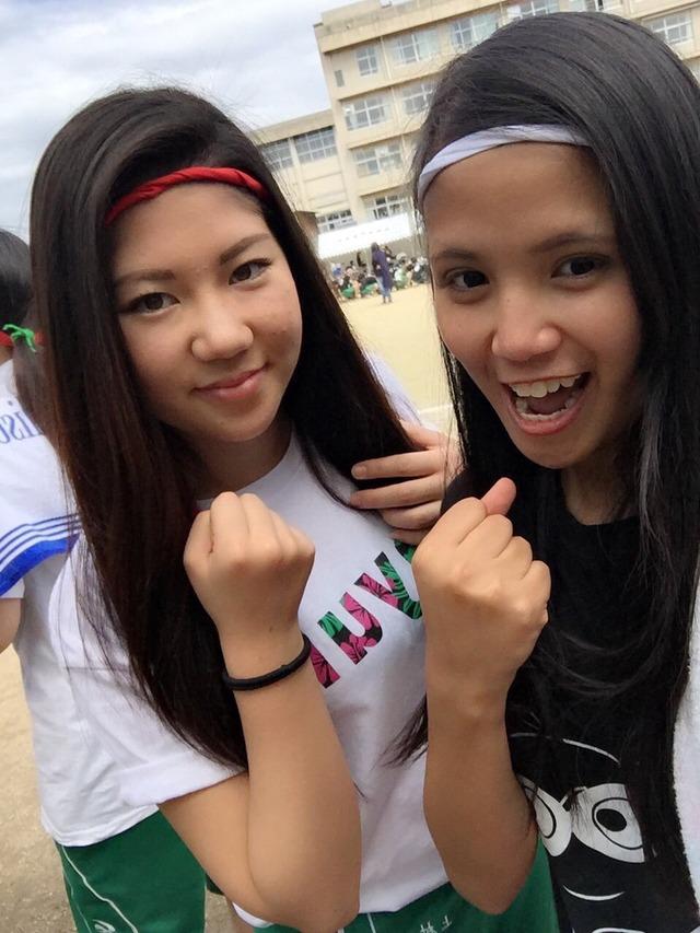 「JK 体育祭」で検索したらぐうシコ自画撮りが大量に見つかる!wwwSNOWとかいうアプリ使いすぎwww(画像あり)・6枚目の画像