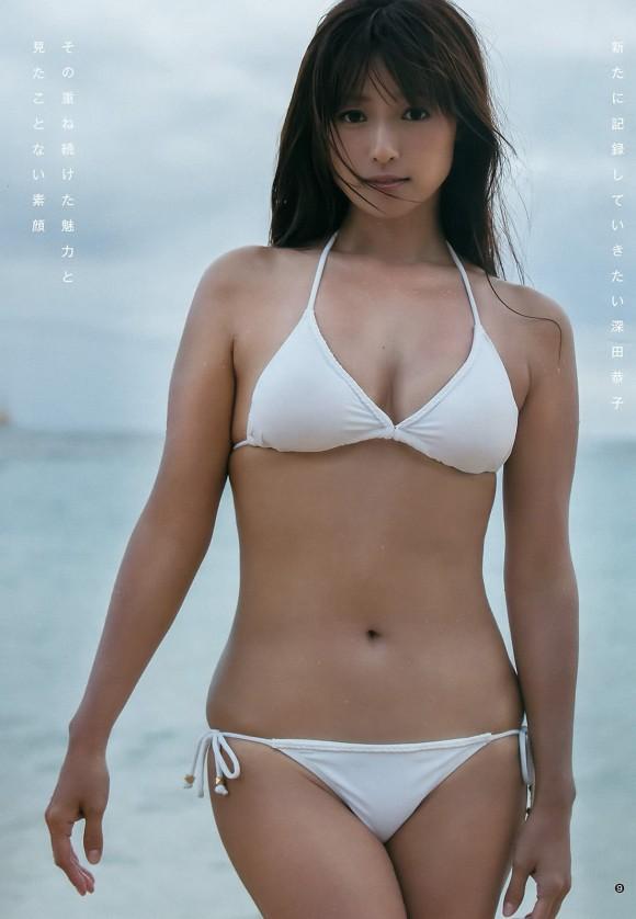 ヌードまだ?深田恭子が33歳で一番脂乗ってる模様wwwwww(グラビア画像あり)・15枚目の画像