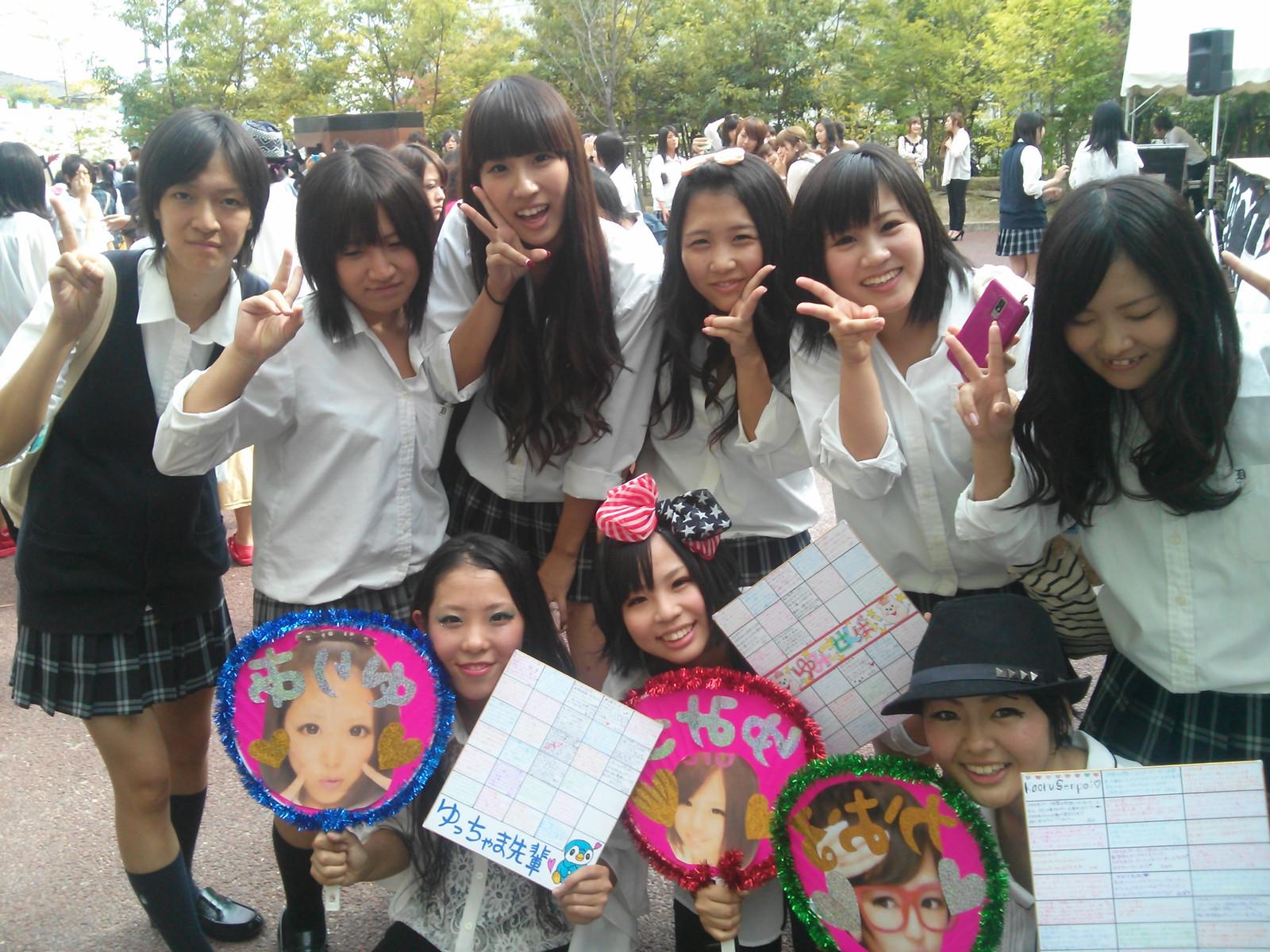 文化祭ではしゃぐリア充10代小娘がブスでもカワイく見える現象wwwwwwwwwwww(インスタえろ写真あり)