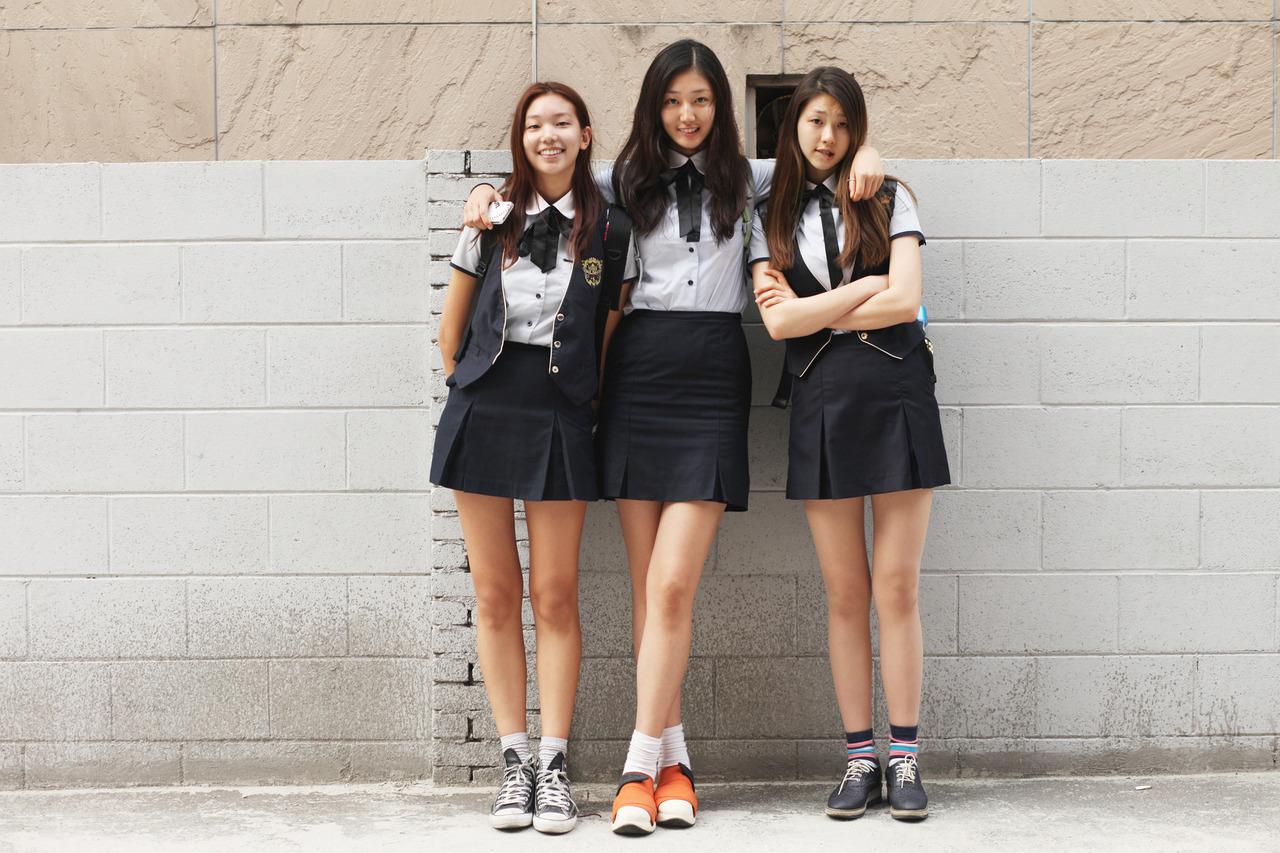 韓国美女のJK制服姿がぐうシコなエロ画像33枚・3枚目の画像