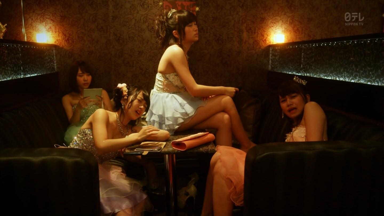 こじはるもキャバ嬢ドレスで巨乳おっぱい谷間を公開したキャバスカ学園のエロキャプ画像wwwww・12枚目の画像