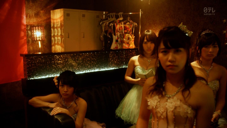 こじはるもキャバ嬢ドレスで巨乳おっぱい谷間を公開したキャバスカ学園のエロキャプ画像wwwww・16枚目の画像