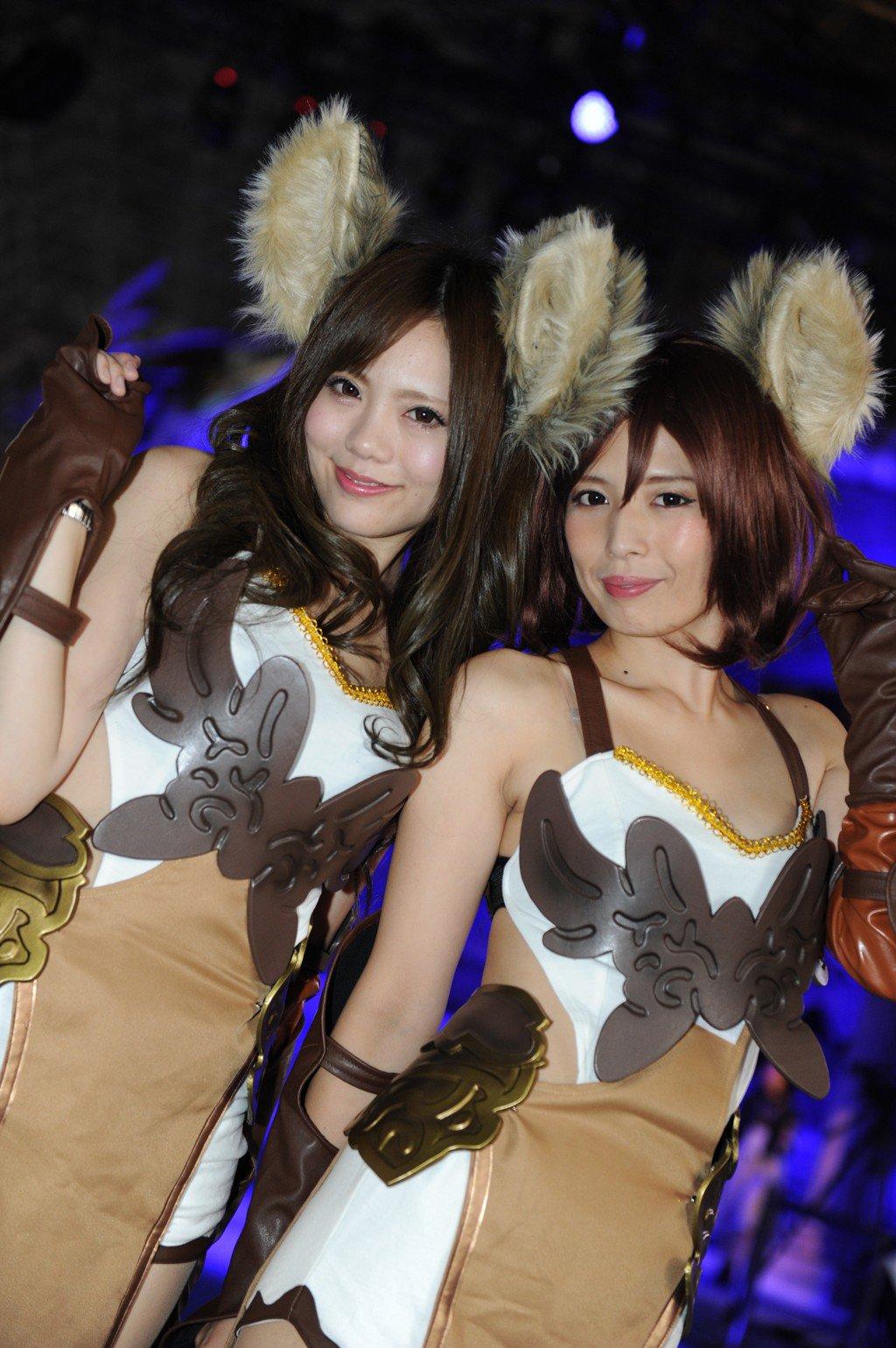 【エロ画像】TGS ,えろ画像☆東京GAMEショーはエッチ☆なコンパニオンがコスプレしててレイヤーよりレベル高くてぐうシコwwwwwwwwwwwwwww