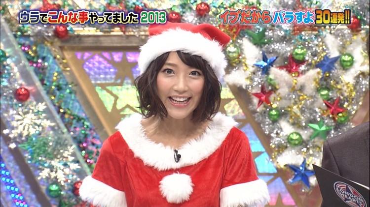 【エロ画像】竹内由恵アナ サンタコス☆こんなコスプレしてクリスマスは生Hしてるんだろうかwwwwwwwwwwwwwww