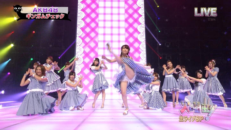 歌番組ローアングルパンチラ エロ画像25枚!AKB48等のアイドル達の下半身がマジ抜けるwww・2枚目の画像