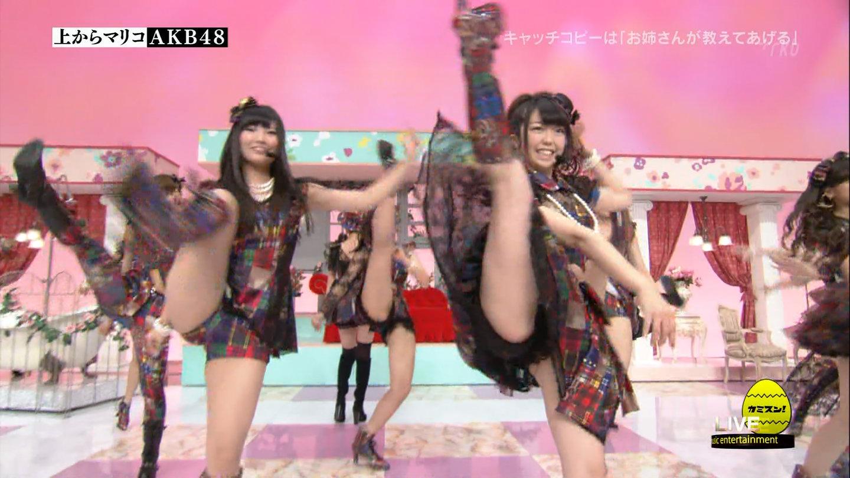 歌番組ローアングルパンチラ エロ画像25枚!AKB48等のアイドル達の下半身がマジ抜けるwww・3枚目の画像