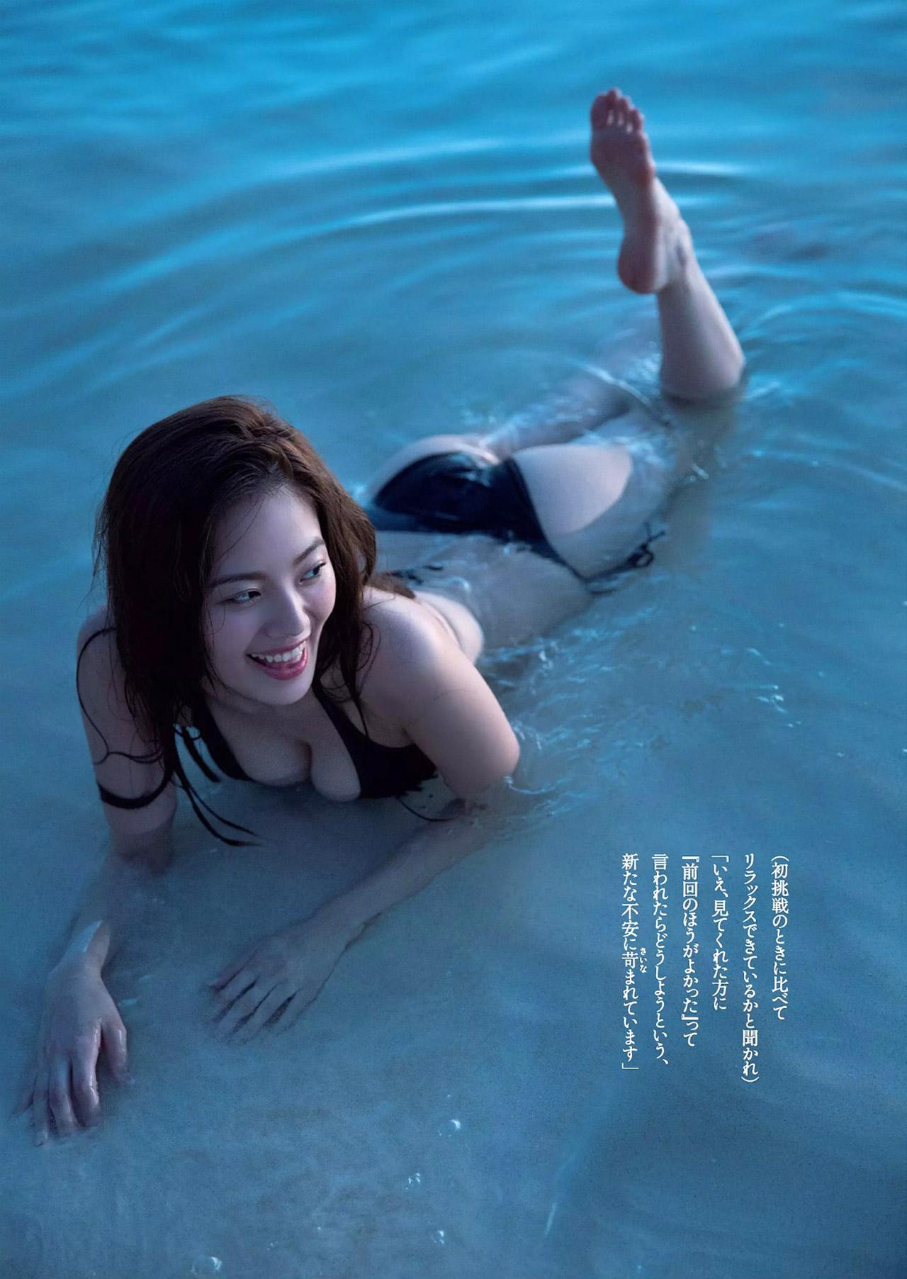 伊東紗冶子(23)Gカップキャスターの水着グラビア画像60枚・33枚目の画像