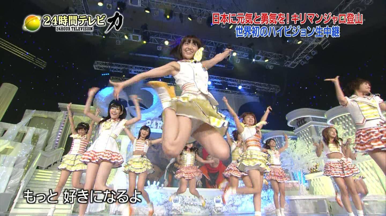 歌番組ローアングルパンチラ エロ画像25枚!AKB48等のアイドル達の下半身がマジ抜けるwww・8枚目の画像