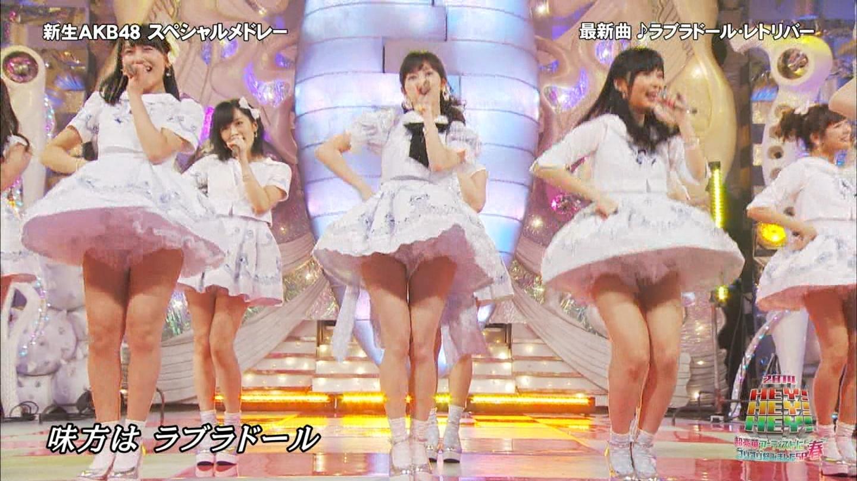 歌番組ローアングルパンチラ エロ画像25枚!AKB48等のアイドル達の下半身がマジ抜けるwww・13枚目の画像