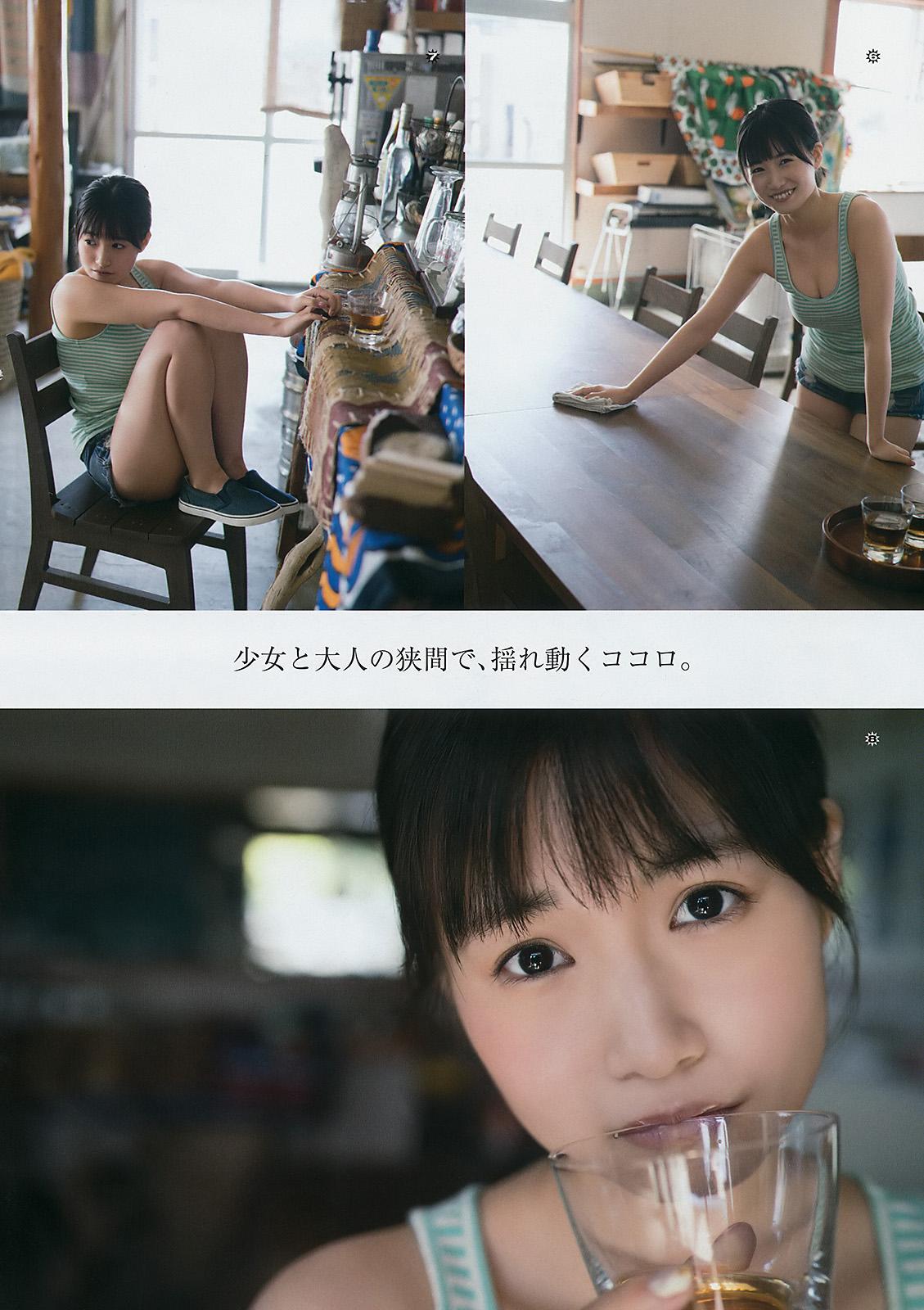 HKT48朝長美桜(19)の水着グラビア、キャバ嬢姿のエロ画像50枚・31枚目の画像