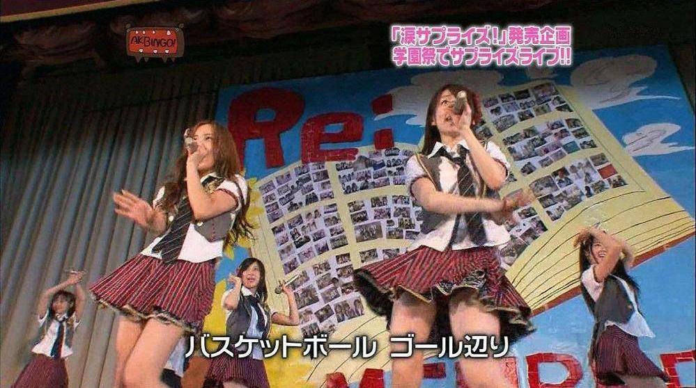 歌番組ローアングルパンチラ エロ画像25枚!AKB48等のアイドル達の下半身がマジ抜けるwww・26枚目の画像
