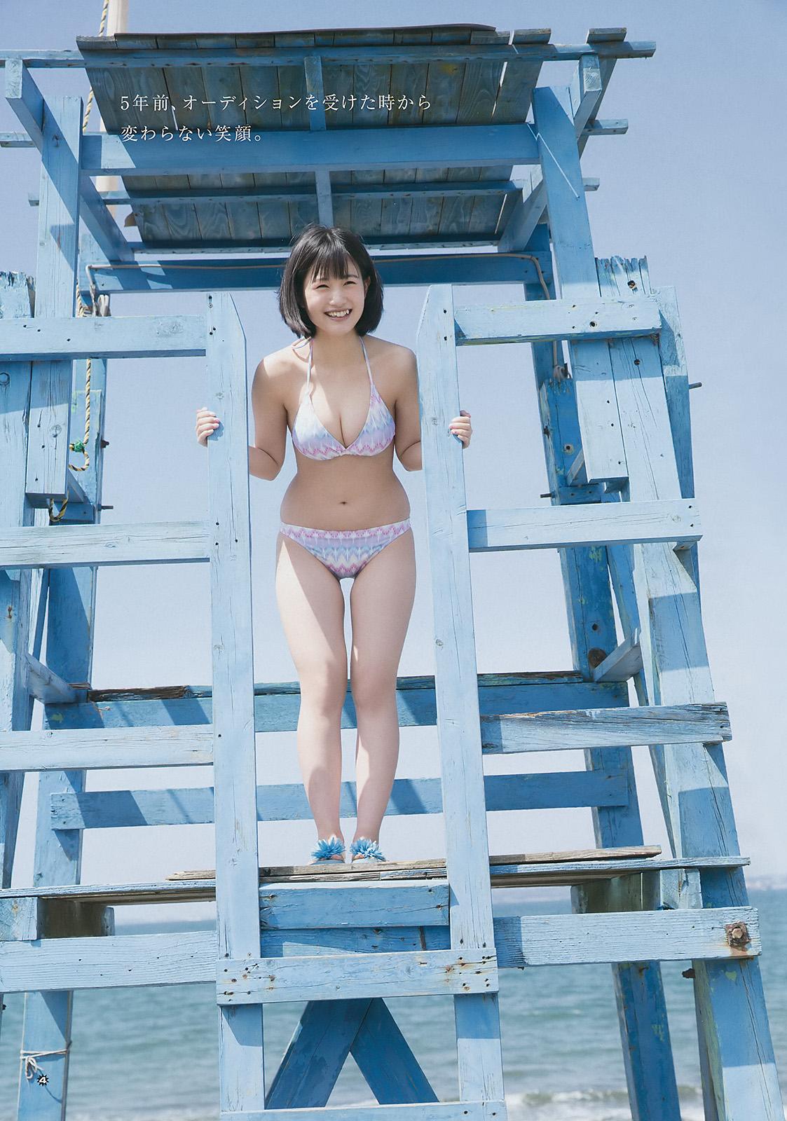 HKT48朝長美桜(19)の水着グラビア、キャバ嬢姿のエロ画像50枚・34枚目の画像