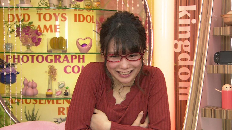 加藤里保菜 ランク王国メガネ美少女エロ画像61枚!疑似フェラに美乳おっぱいがけしからんエロさwww・63枚目の画像