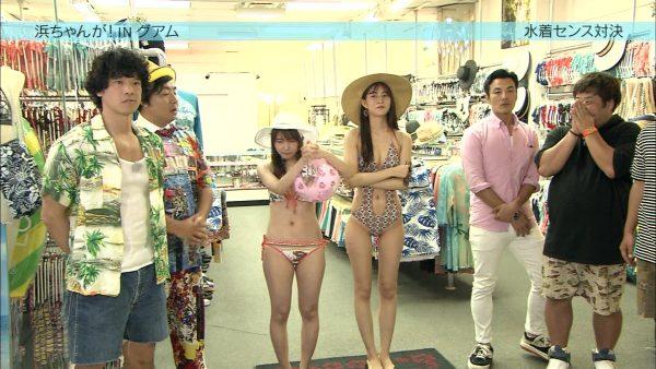 AKB阿部マリアが変態水着で胸チラにプリケツ丸見え放送事故28連発!・2枚目の画像