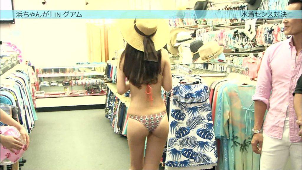 AKB阿部マリアが変態水着で胸チラにプリケツ丸見え放送事故28連発!・12枚目の画像