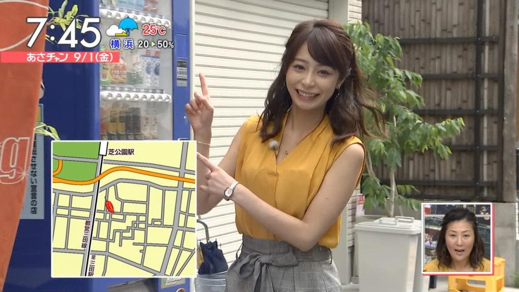宇垣アナ(26)のアイコラヌード&Gカップ胸チラエロ画像118枚・25枚目の画像
