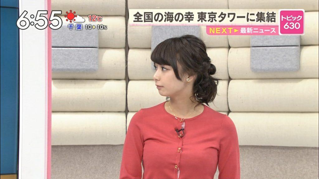 宇垣アナ(26)のアイコラヌード&Gカップ胸チラエロ画像118枚・70枚目の画像