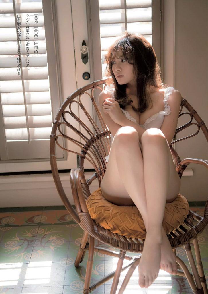 白石麻衣(25)の写真集&最新グラビアエロ画像180枚・80枚目の画像