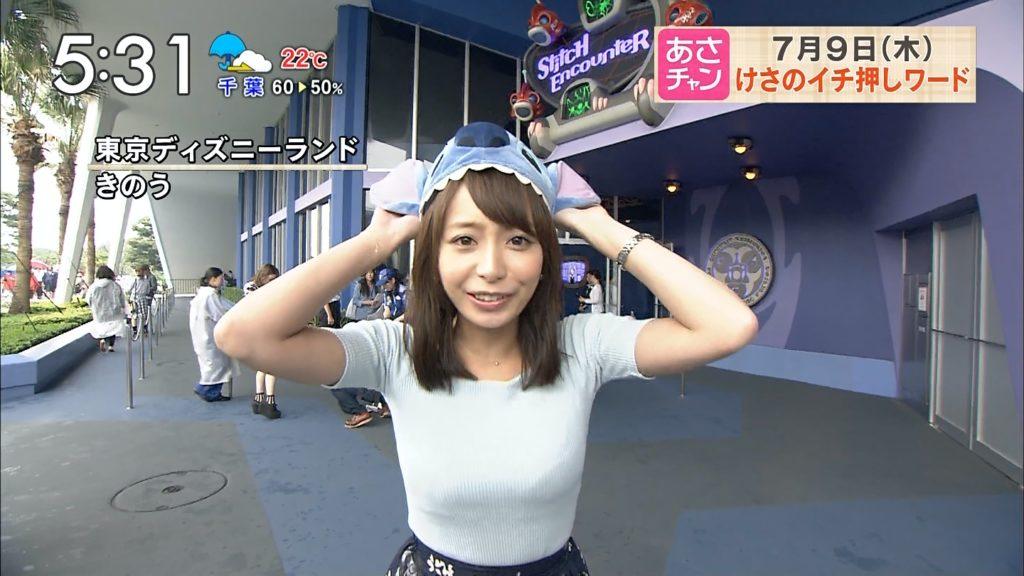 宇垣アナ(26)のアイコラヌード&Gカップ胸チラエロ画像118枚・87枚目の画像