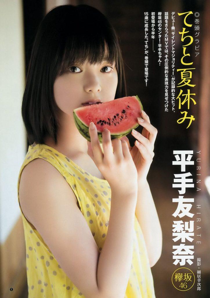 欅坂46センター平手友梨奈のアイコラ&グラビアエロ画像58枚・49枚目の画像