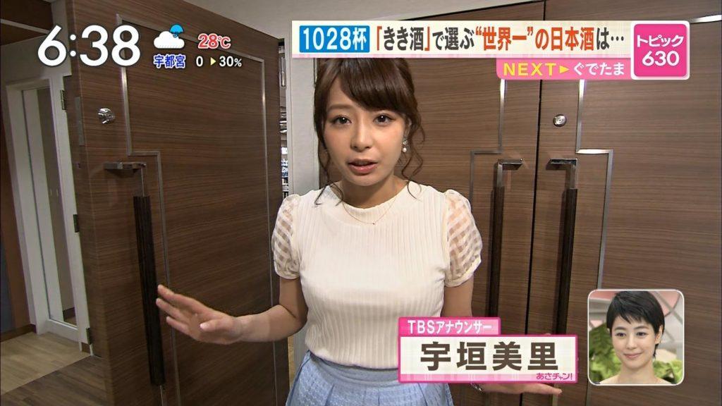 宇垣アナ(26)のアイコラヌード&Gカップ胸チラエロ画像118枚・93枚目の画像