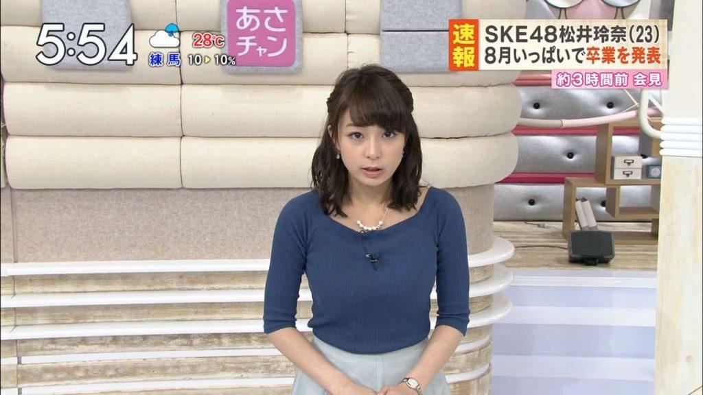 宇垣アナ(26)のアイコラヌード&Gカップ胸チラエロ画像118枚・97枚目の画像