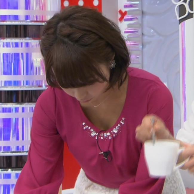 宇垣アナ(26)のアイコラヌード&Gカップ胸チラエロ画像118枚・100枚目の画像
