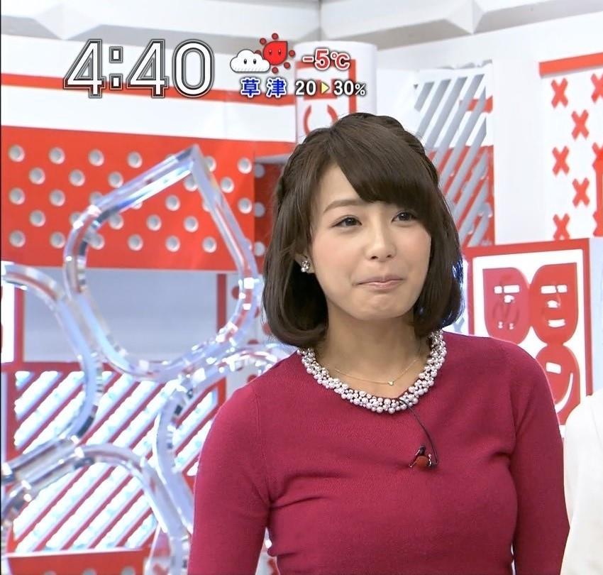 宇垣アナ(26)のアイコラヌード&Gカップ胸チラエロ画像118枚・101枚目の画像